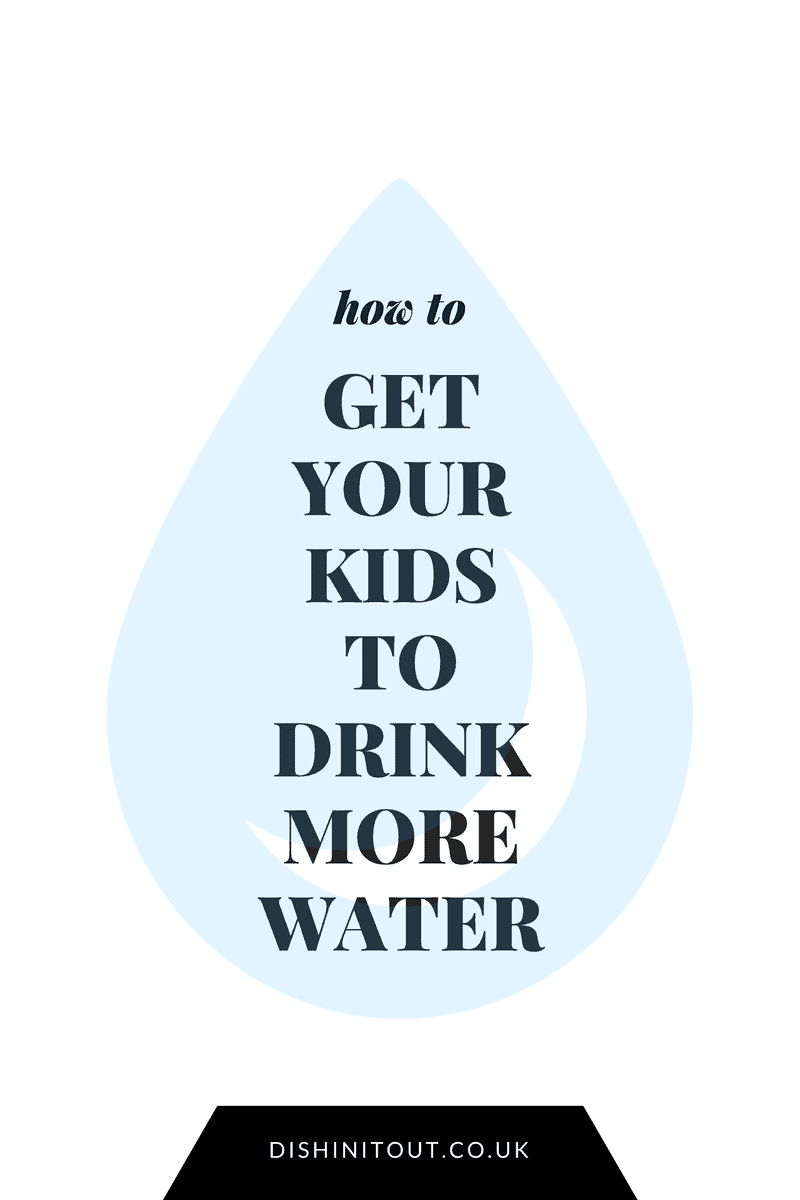 get kids to drink more water
